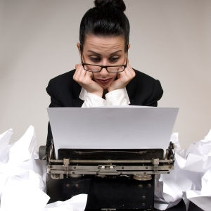 Writer's block  is a problem when writing small business blogs.